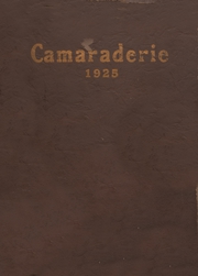 Page 1, 1925 Edition, Greenfield High School - Camaraderie Yearbook (Greenfield, IN) online yearbook collection