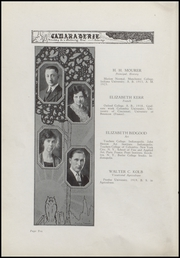 Page 14, 1925 Edition, Greenfield High School - Camaraderie Yearbook (Greenfield, IN) online yearbook collection