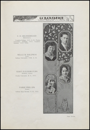 Page 15, 1925 Edition, Greenfield High School - Camaraderie Yearbook (Greenfield, IN) online yearbook collection