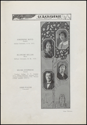 Page 17, 1925 Edition, Greenfield High School - Camaraderie Yearbook (Greenfield, IN) online yearbook collection