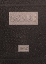 Page 1, 1932 Edition, Greenfield High School - Camaraderie Yearbook (Greenfield, IN) online yearbook collection