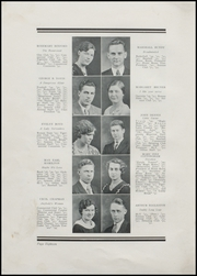 Page 24, 1932 Edition, Greenfield High School - Camaraderie Yearbook (Greenfield, IN) online yearbook collection