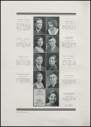 Page 28, 1932 Edition, Greenfield High School - Camaraderie Yearbook (Greenfield, IN) online yearbook collection