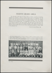 Page 36, 1932 Edition, Greenfield High School - Camaraderie Yearbook (Greenfield, IN) online yearbook collection