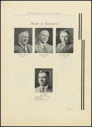 Page 11, 1934 Edition, Greenfield High School - Camaraderie Yearbook (Greenfield, IN) online yearbook collection