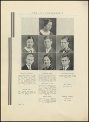 Page 14, 1934 Edition, Greenfield High School - Camaraderie Yearbook (Greenfield, IN) online yearbook collection