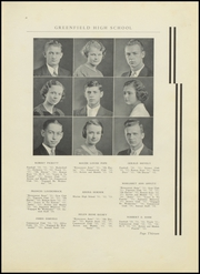 Page 17, 1934 Edition, Greenfield High School - Camaraderie Yearbook (Greenfield, IN) online yearbook collection