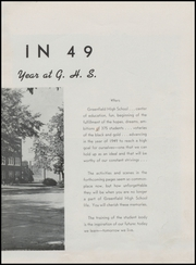 Page 7, 1949 Edition, Greenfield High School - Camaraderie Yearbook (Greenfield, IN) online yearbook collection