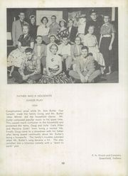 Page 14, 1955 Edition, Greenfield High School - Camaraderie Yearbook (Greenfield, IN) online yearbook collection