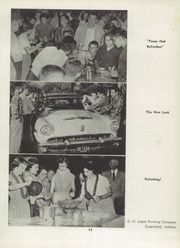 Page 17, 1955 Edition, Greenfield High School - Camaraderie Yearbook (Greenfield, IN) online yearbook collection
