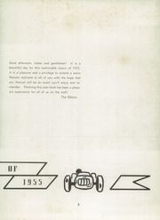 Page 7, 1955 Edition, Greenfield High School - Camaraderie Yearbook (Greenfield, IN) online yearbook collection