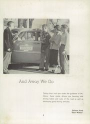 Page 9, 1955 Edition, Greenfield High School - Camaraderie Yearbook (Greenfield, IN) online yearbook collection
