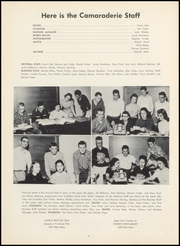 Page 8, 1957 Edition, Greenfield High School - Camaraderie Yearbook (Greenfield, IN) online yearbook collection