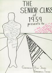 Page 5, 1959 Edition, Greenfield High School - Camaraderie Yearbook (Greenfield, IN) online yearbook collection