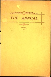 1915 Edition, Bristol High School - Hilltopper Yearbook (Bristol, IN)