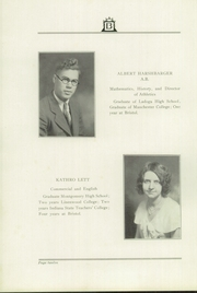 Page 16, 1931 Edition, Bristol High School - Hilltopper Yearbook (Bristol, IN) online yearbook collection