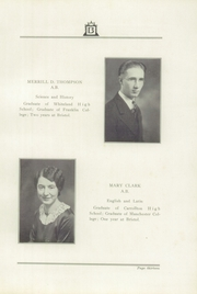 Page 17, 1931 Edition, Bristol High School - Hilltopper Yearbook (Bristol, IN) online yearbook collection