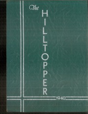 1940 Edition, Bristol High School - Hilltopper Yearbook (Bristol, IN)