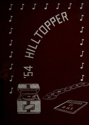1954 Edition, Bristol High School - Hilltopper Yearbook (Bristol, IN)