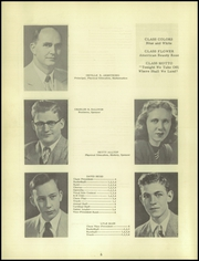 Page 10, 1951 Edition, Clayton High School - Cardinal Yearbook (Clayton, IN) online yearbook collection