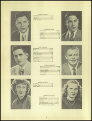 Page 12, 1951 Edition, Clayton High School - Cardinal Yearbook (Clayton, IN) online yearbook collection