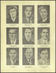 Page 8, 1951 Edition, Clayton High School - Cardinal Yearbook (Clayton, IN) online yearbook collection