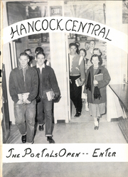 Page 5, 1957 Edition, Hancock Central High School - Panther Yearbook (Maxwell, IN) online yearbook collection