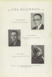 Page 13, 1927 Edition, Milltown High School - Wheel Yearbook (Milltown, IN) online yearbook collection