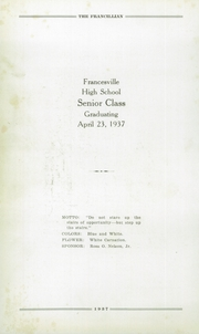 Page 10, 1937 Edition, Francesville High School - Francillian Yearbook (Francesville, IN) online yearbook collection