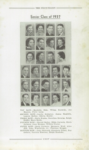 Page 11, 1937 Edition, Francesville High School - Francillian Yearbook (Francesville, IN) online yearbook collection