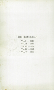 Page 4, 1937 Edition, Francesville High School - Francillian Yearbook (Francesville, IN) online yearbook collection