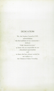 Page 8, 1937 Edition, Francesville High School - Francillian Yearbook (Francesville, IN) online yearbook collection