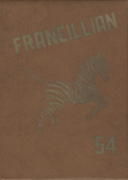 Page 1, 1954 Edition, Francesville High School - Francillian Yearbook (Francesville, IN) online yearbook collection