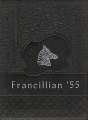1955 Edition, Francesville High School - Francillian Yearbook (Francesville, IN)