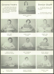 Page 16, 1956 Edition, Greene High School - Yearbook (South Bend, IN) online yearbook collection