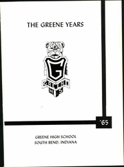 Page 5, 1965 Edition, Greene High School - Yearbook (South Bend, IN) online yearbook collection