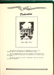 Page 9, 1954 Edition, Oxford High School - Oak Leaves Yearbook (Oxford, IN) online yearbook collection