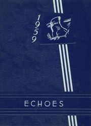 1959 Edition, Fillmore High School - Echoes Yearbook (Fillmore, IN)