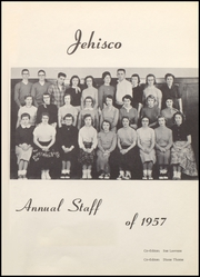 Page 5, 1957 Edition, Jefferson Township High School - Jehisco Yearbook (Matthews, IN) online yearbook collection