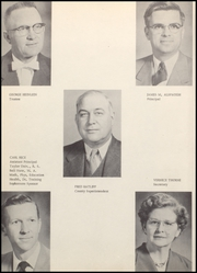 Page 8, 1957 Edition, Jefferson Township High School - Jehisco Yearbook (Matthews, IN) online yearbook collection