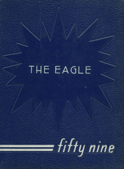 1959 Edition, Charlottesville High School - Eagle Yearbook (Charlottesville, IN)