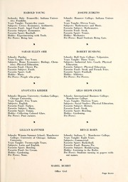 Page 11, 1947 Edition, Milford High School - Trojanette Yearbook (Milford, IN) online yearbook collection