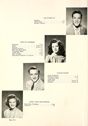 Page 14, 1947 Edition, Milford High School - Trojanette Yearbook (Milford, IN) online yearbook collection