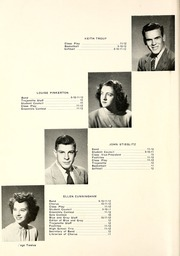 Page 16, 1947 Edition, Milford High School - Trojanette Yearbook (Milford, IN) online yearbook collection