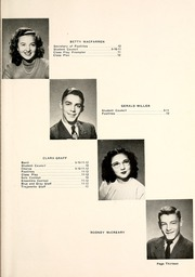 Page 17, 1947 Edition, Milford High School - Trojanette Yearbook (Milford, IN) online yearbook collection