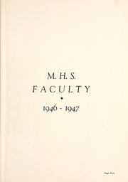 Page 9, 1947 Edition, Milford High School - Trojanette Yearbook (Milford, IN) online yearbook collection