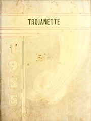1955 Edition, Milford High School - Trojanette Yearbook (Milford, IN)