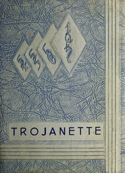1957 Edition, Milford High School - Trojanette Yearbook (Milford, IN)