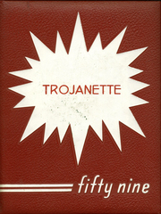 1959 Edition, Milford High School - Trojanette Yearbook (Milford, IN)