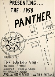Page 7, 1950 Edition, Avilla High School - Panther Yearbook (Avilla, IN) online yearbook collection
